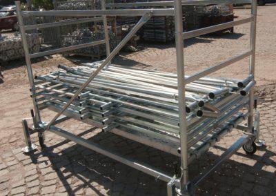 Мобилно скеле от Булгарком